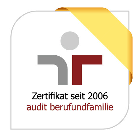 The quality audit berufundfamilie affirms the Max Planck Society for the Advancement of Science as practising a family-friendly human resource policy. The certificate is awarded by berufundfamilie GmbH, which was founded by the non-profit Hertie foundation. The certificate is recommended by leading representatives from business, science, politics, and non-profit organizations. The Federal Ministry of Family Affairs, Senior Citizens, Women and Youth, and the Federal Ministry for Economic Affairs and Energy are patrons of the certification body.