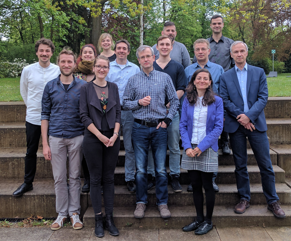 Somatosensory Group Retreat, May 8, 2017, Harnack House BerlinFLTR: Martin Grund, Norman Forschack, Esra Al, Elena Cesnaite, Juliane Döhler, Till Nierhaus, Vadim Nikulin, Jonas Witt, Birol Taskin, Anahit Babayan, Arno Villringer, Fivos Iliopoulos, & Gabriel Curio