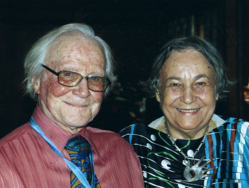 "The married scientist couple Anneliese and Dieter Pontius <span class=""st"">©</span> MPI CBS"