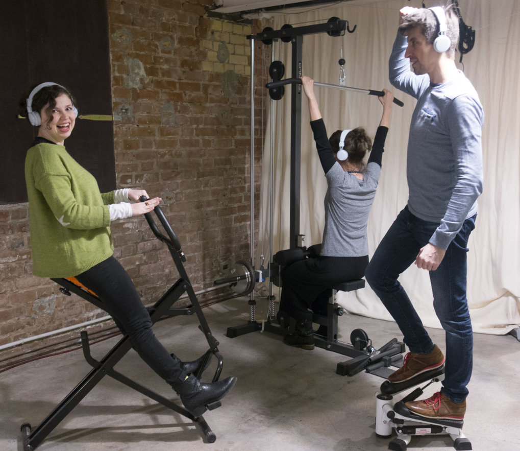 Scientists at the Max Planck Institute for Human Cognitive and Brain Sciences (MPI CBS) in Leipzig found that the new fitness technology called Jymmin makes us less sensitive to pain. Photo: MPI CBS